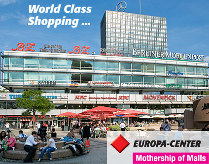 Europa Center Centrum Handlowe Wszystkie Zakupy Berlin Www